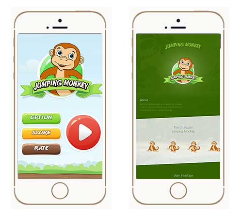 Jumping Monkey Game, Mobile Game, Android Games